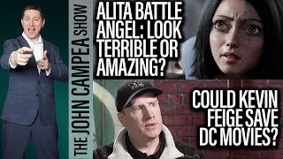 Could Kevin Feige Save DC? Does Alita Battle Angel Look Great Or Terrible? The John Campea Show thumbnail