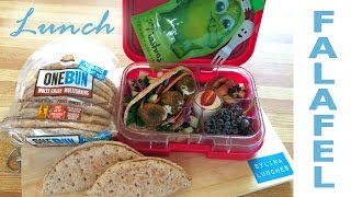Vegetarian Lunch Ideas - Pita Falafels