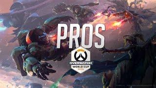 Best PROS Plays - Overwatch World Cup 2016