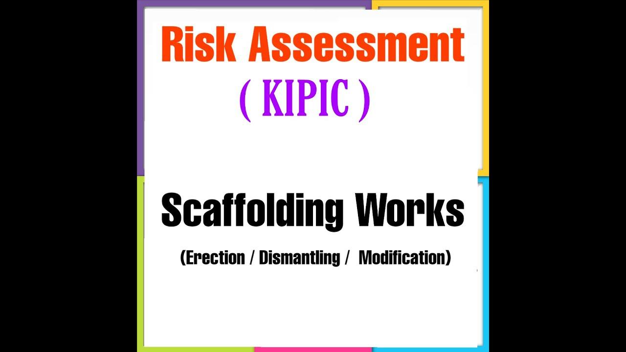 Risk assessment for Scaffolding Works