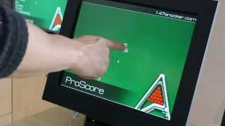 This video demonstrates basic snooker scoring with touch screen interface (or mouse) using proscore & billiards scoreboard software for windows. http...