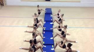 Splits Stretches for Rhythmic Gymnastics