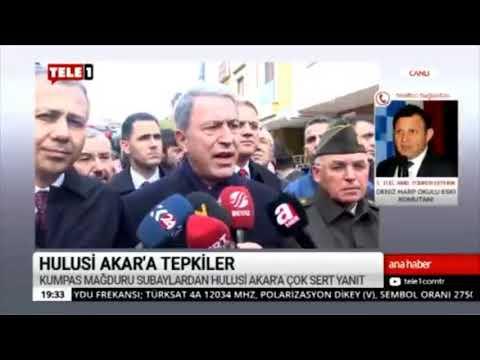Hulusi Akar'ı Bir De Türker Ertürk'den Dinleyin.   TELE1 TV