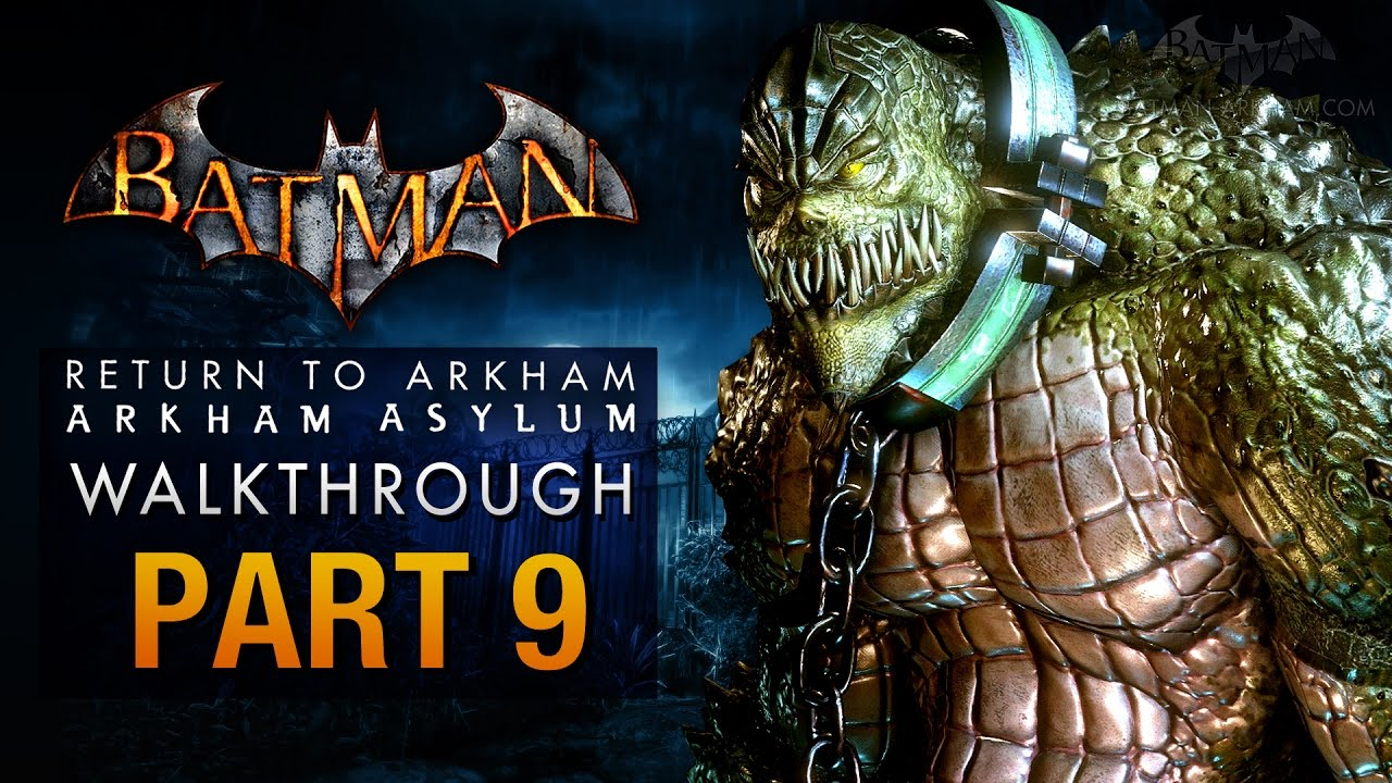 Download Batman: Return to Arkham Asylum Walkthrough - Part 9 - The Old Sewer (Killer Croc)