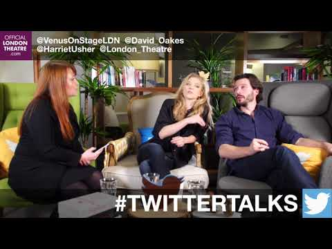 Natalie Dormer & David Oakes LIVE Twitter  for Venus In Fur 2017