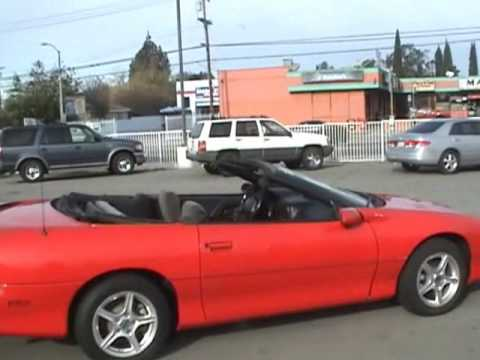 2001 Chevy Camaro Convertible For Sale