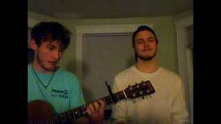 Simon and Garfunkel - Flowers Never Bend With the Rainfall - Cover - Andrew and Kitch