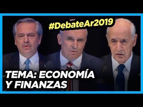 #DebateAr2019 TEMA: Economía y Finanzas