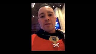 Colby Covington Hunts Down Dana White to Confront Him at Vegas Casino