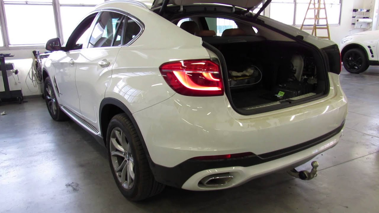 Bmw X6 F16 Electric Fold In Tow Bar Youtube