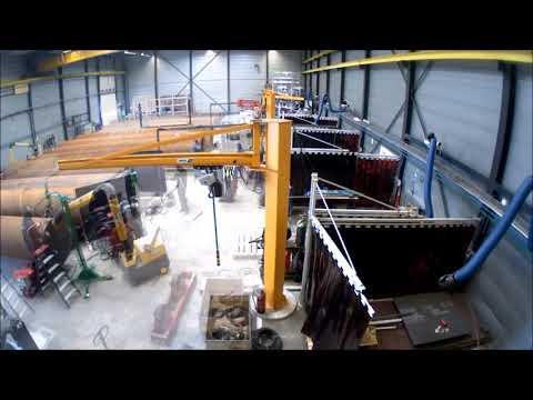 Mechanische prefabricage werkplaats Ballast Nedam Industriebouw