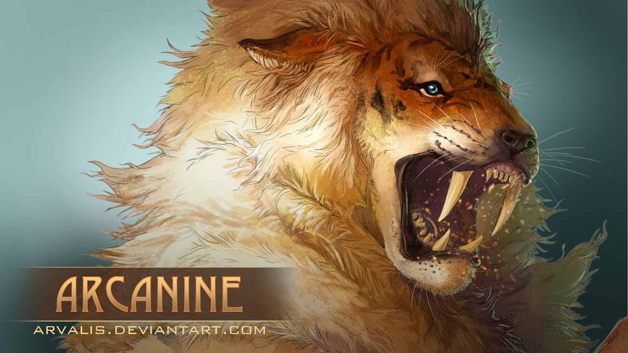 Tiger Animal Wallpaper 3d Let S Draw Realistic Arcanine Youtube
