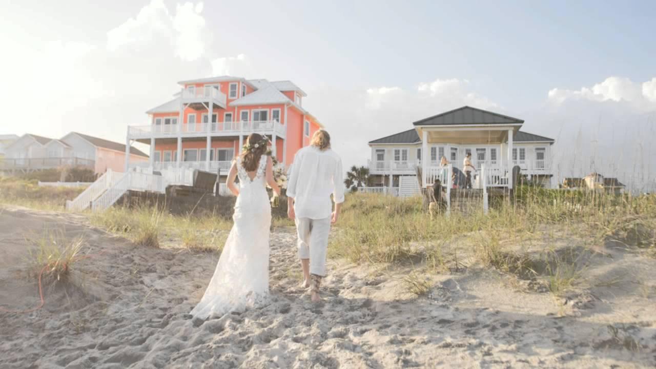 Beach Weddings Town Of Emerald Isle North Carolina