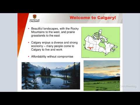 The Application Process for Graduate Studies - The University of Calgary and Dalhousie University