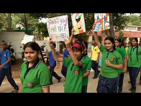 CLEAN INDIA - GREEN INDIA RALLY  -  KENDRIYA VIDYALAYA NO. 4 AMBALA