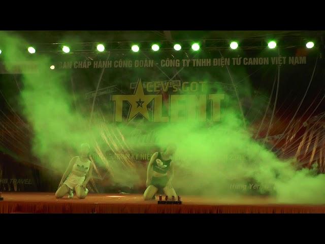 Tiết mục nhảy SEXYDANCE tại CEV'SGOT TALENT Canon Việt Nam 2018