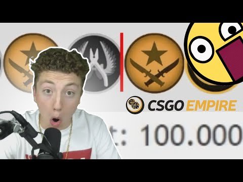 Gambling on CSGOEMPIRE!!! WHY DID I DO THAT?