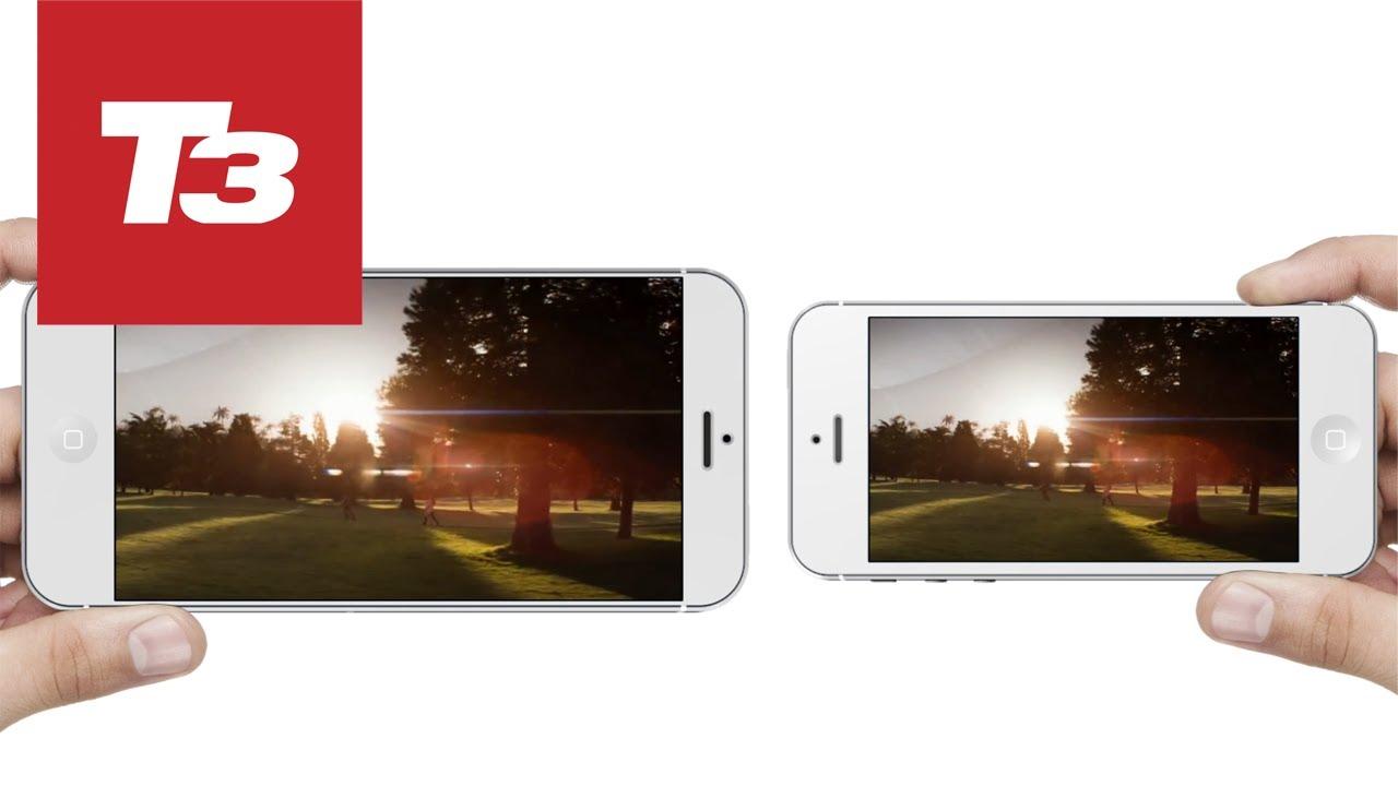 iPhone 5.7 concept: 3D concept render