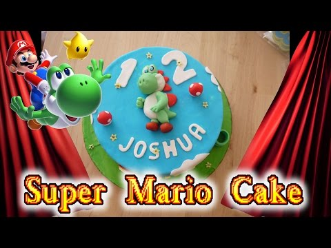 super mario torte recipes even videogamers can make doovi. Black Bedroom Furniture Sets. Home Design Ideas