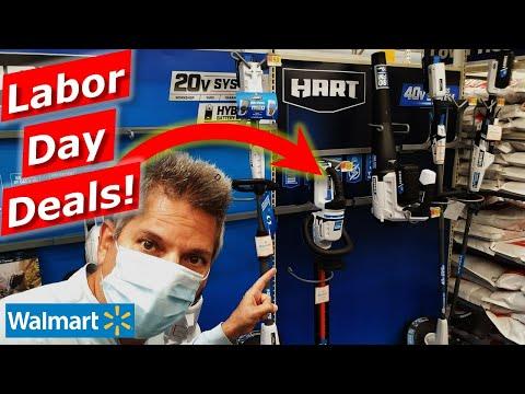 Walmart LABOR DAY Hart Tool Deals 4K, Outdoor Tools, Shopping Tips