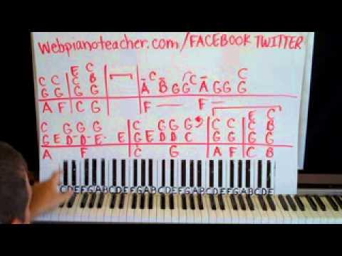 Then Piano Lesson part 1 Brad Paisley