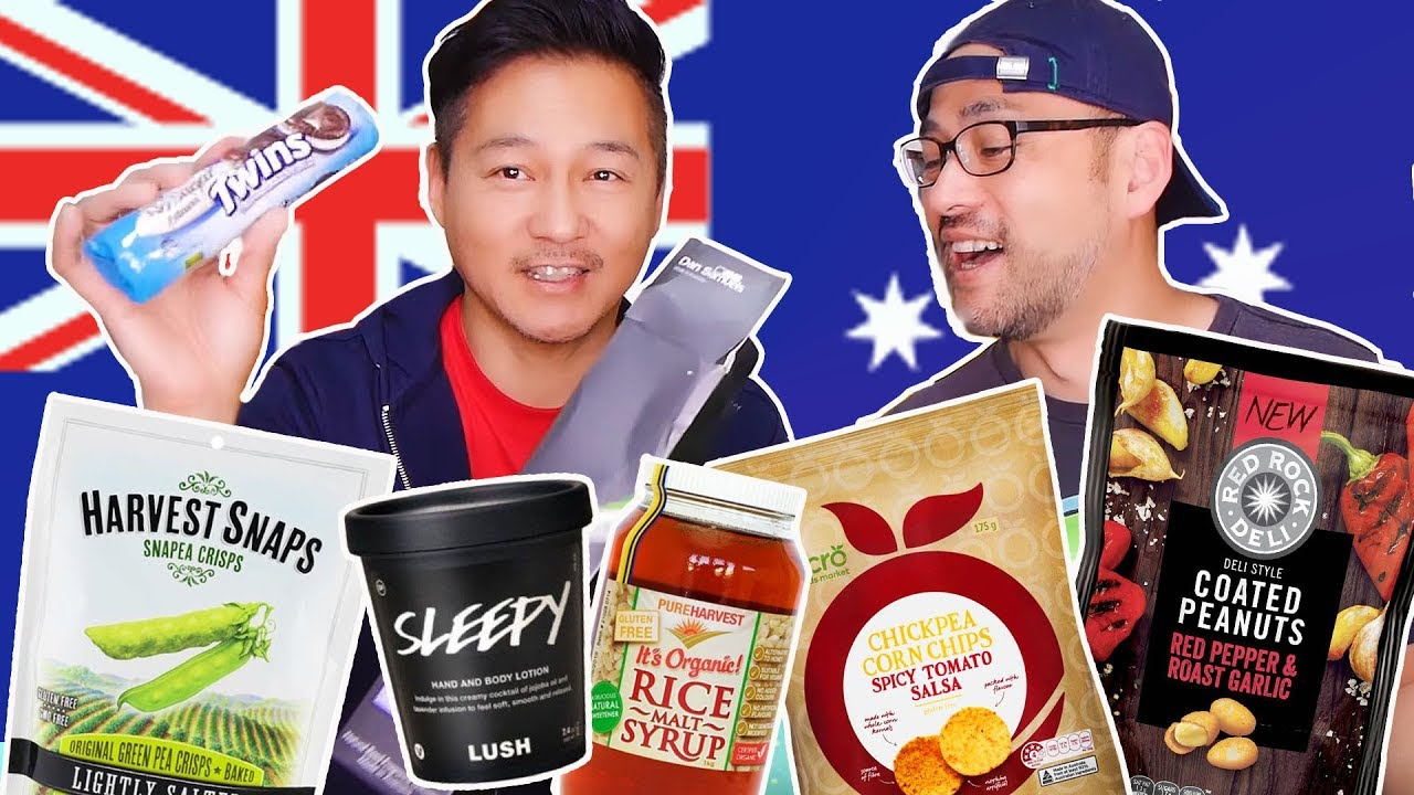 HEALTHY FOOD UNBOXING & TASTE TEST from Australia