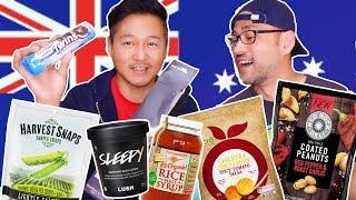 HEALTHY FOOD UNBOX NG \u0026 TASTE TEST From Australia