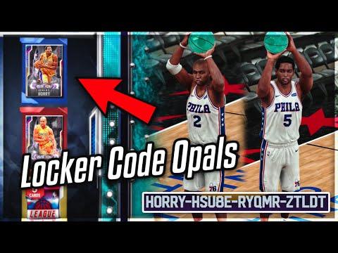 FREE GALAXY OPAL LOCKER CODE DYNAMIC DUO ROBERT HORRY & DEREK FISHER In NBA 2k20 MyTEAM!!