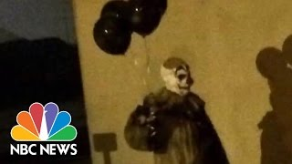 Creepy Clowns Are Summer 2016's Most Unnerving Occurrence | NBC News