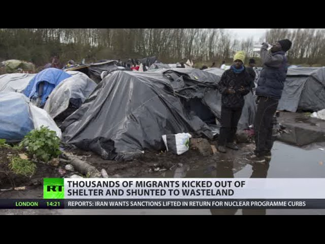 Calais migrants in limbo between UK & France, officials shift blame