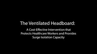 Ventilated Headboard: Surge Isolation to Protect Healthcare Workers