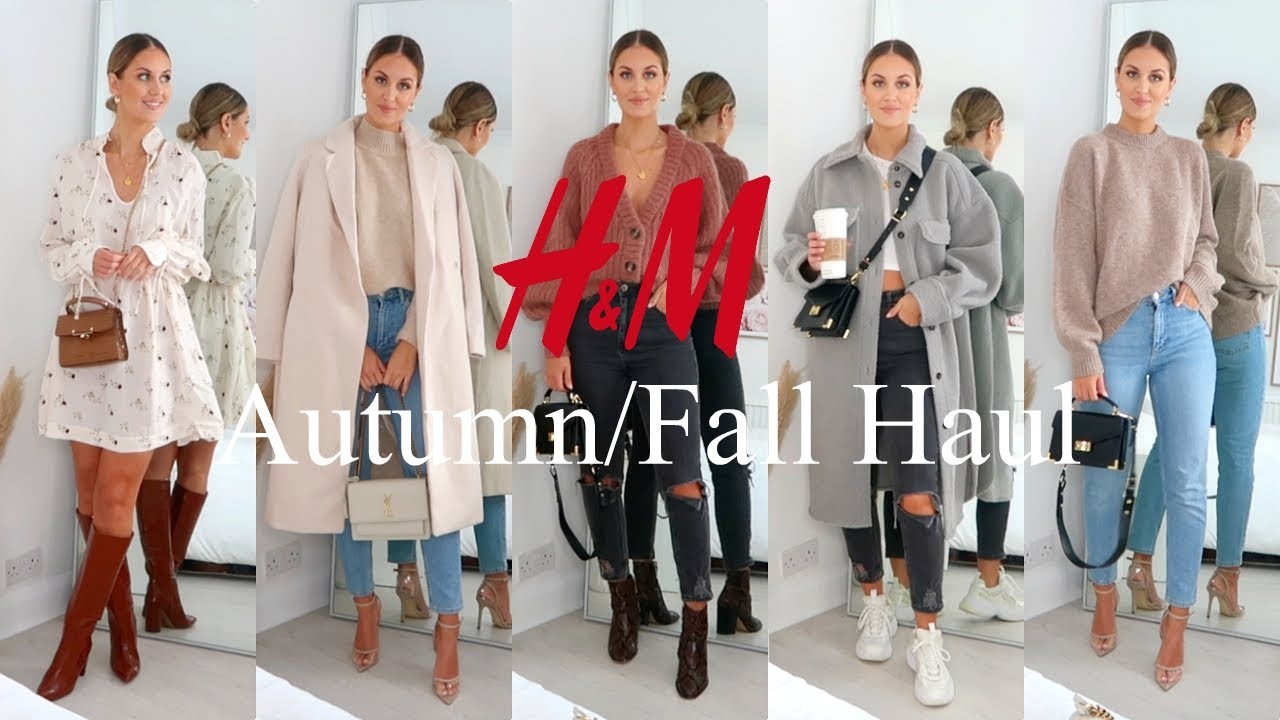 NEW IN H&M AUTUMN/FALL TRY ON HAUL & STYLING