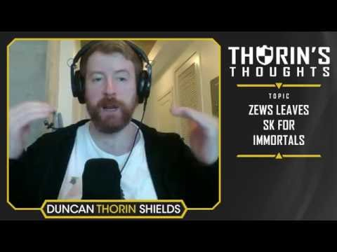 Thorin's Thoughts - zews Leaves SK for Immortals (CS:GO)