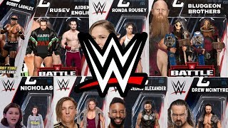 NEW WWE RAW & SMACKDOWN LIVE FIGURES I'D LOVE MATTEL TO MAKE IN 2018!!!