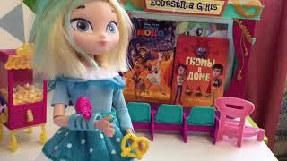 Сказочный патруль в кино! Маша Варя Снежка и Аленка пошли в кинотеатр!