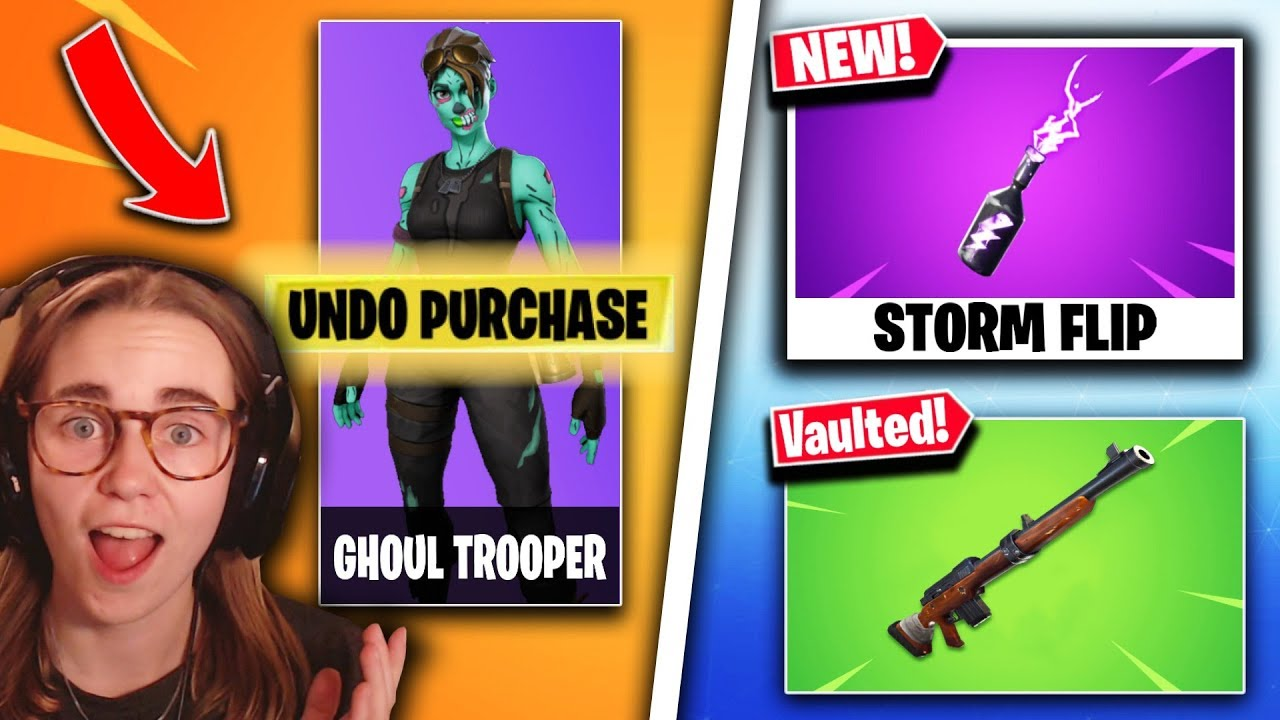 'Fortnite' Update 9.20 Adds Storm Flip & Vaults Hunting Rifle - Patch Notes