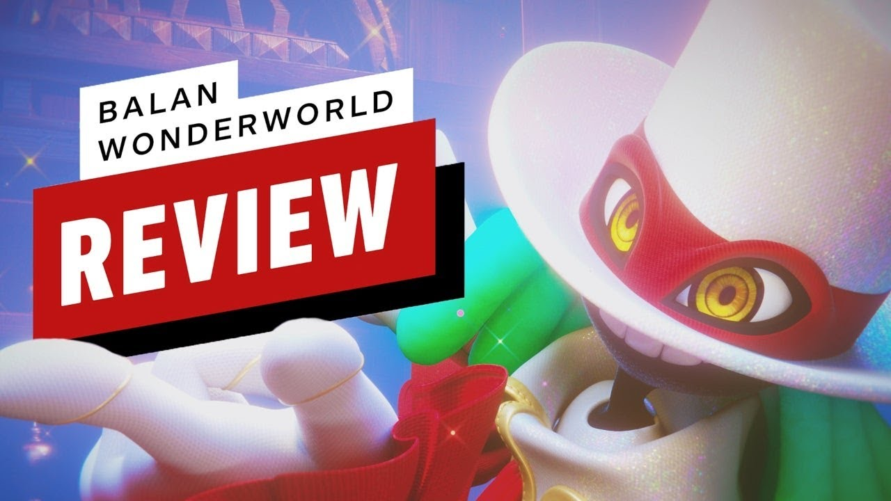 Balan Wonderworld Review (Video Game Video Review)