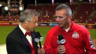 Urban Meyer talks love of baseball, reflects on championship season