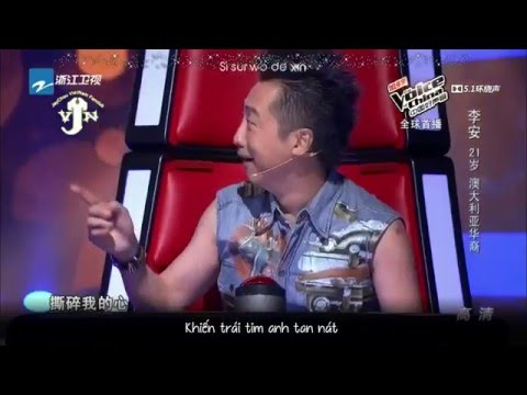 [Vòng giấu mặt] Love is Over - Lý An 李安《逝去的爱》(The voice of china 2015)