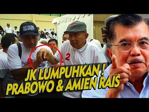 Derrrr ! Pak JK Gunduli Prabowo & Mbah Amien Rais ! Jadi Lemes dan Lemah ?
