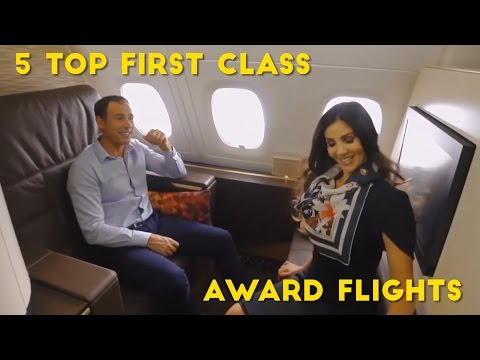 5 Amazing First Class Flights, Bookable With Credit Card Points