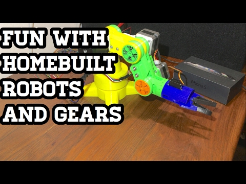 Open Source 3D Printed Robotic Arm