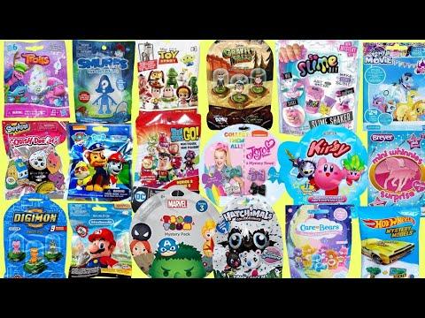 Blind Bags Opening SO SLIME Kirby Nintendo MLP Trolls Toy Story Surprises TOYS Disney Gravity Falls