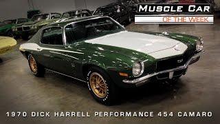 Muscle Car Of The Week Video #70: 1970 Dick Harrell 454 Camaro