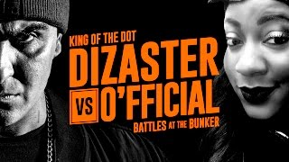 KOTD - Rap Battle - Dizaster vs O