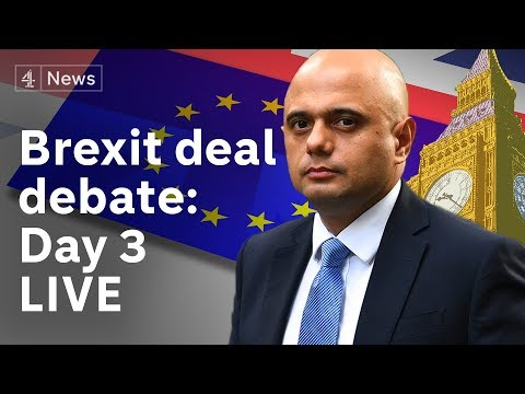 Brexit debate LIVE: MPs discuss Theresa May's deal for the third day|#BREXIT