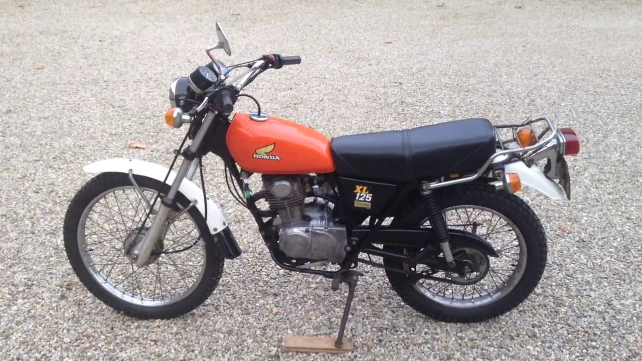honda 125xl 1976 youtube. Black Bedroom Furniture Sets. Home Design Ideas