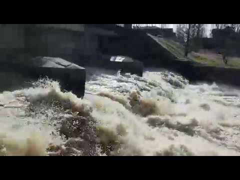 Шлюзование реки Сестры 19.04.18 г.