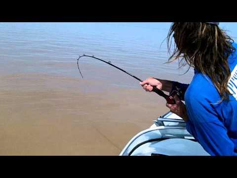 Pesca de Pati en La depre