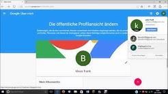Namen ändern Google einfach